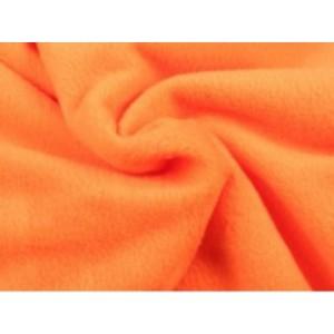 Fleece stof - Oranje