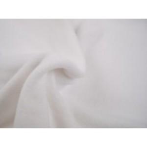 Fleece stof - Wit