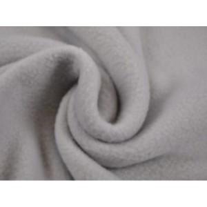Fleece stof - Zilvergrijs