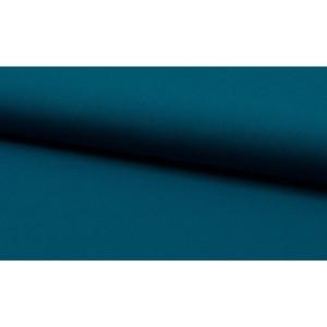 Katoen cyaanblauw - katoen op rol - 100% katoen stof