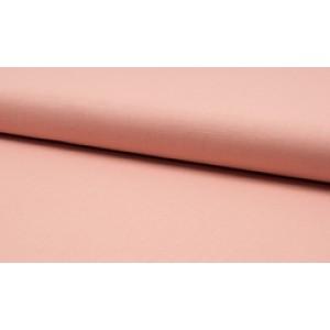 Katoen zalmroze - katoen op rol - 100% katoen stof