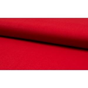 Katoen rood - katoen op rol - 100% katoen stof