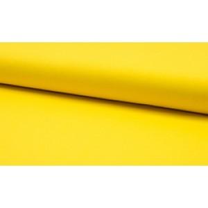 Katoen geel - katoen op rol - 100% katoen stof