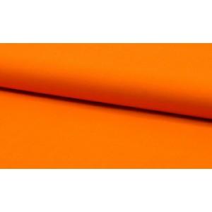 Katoen oranje - katoen op rol - 100% katoen stof