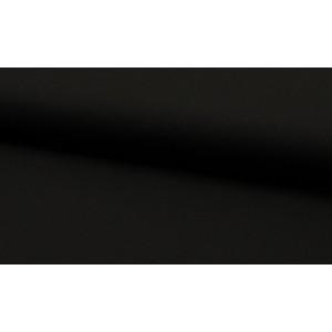Katoen zwart - katoen op rol - 100% katoen stof