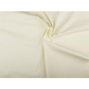 Katoen stof - Gebroken wit - 2 meter