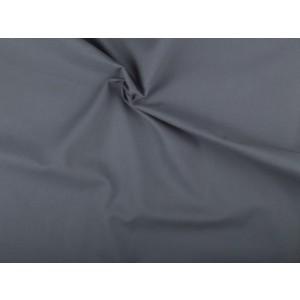 Katoen stof - Middelgrijs - 5 meter