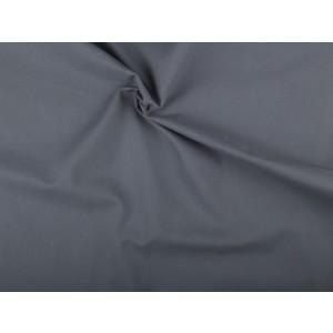 Katoen stof - Middelgrijs - 3 meter