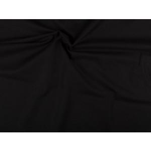 Katoen stof - Zwart - 2 meter