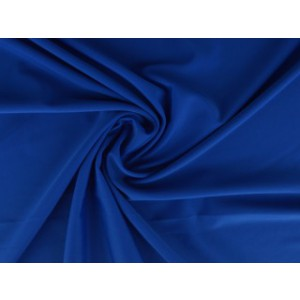 Lycra stof blauw - Badpakkenstof