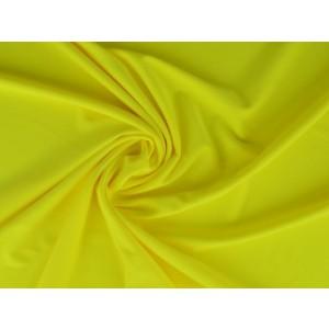 Lycra stof neon geel - Badpakkenstof