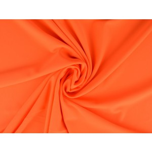 Lycra stof neon oranje - Badpakkenstof