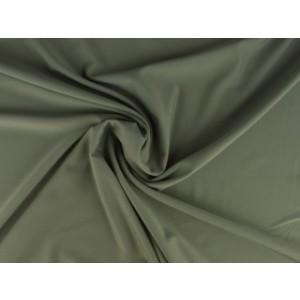 Lycra stof zilvergrijs - Badpakkenstof