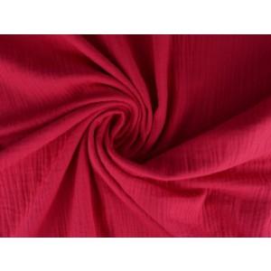 Mousseline stof roze - Katoenen stof op rol