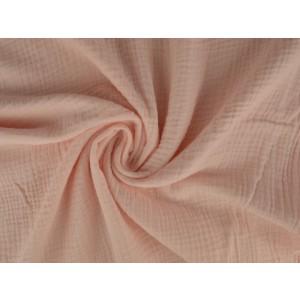 Mousseline stof baby roze - Katoenen stof op rol