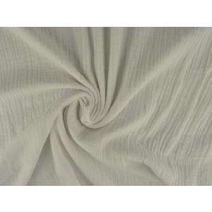 Mousseline stof wit - Katoenen stof op rol