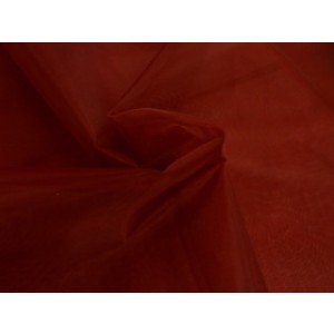 Organza stof - Bordeaux rood