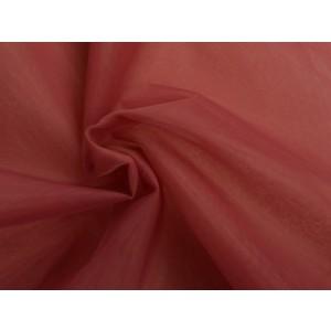 Organza stof - Dusty roze