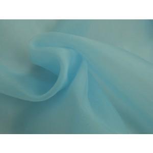 Organza stof - Lichtblauw