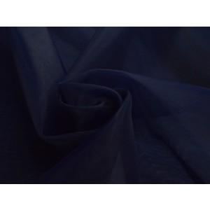 Organza stof - Marineblauw
