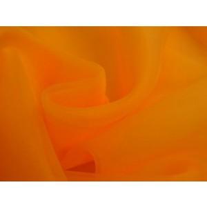 Organza stof - Oranje