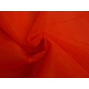 Organza stof - Rood