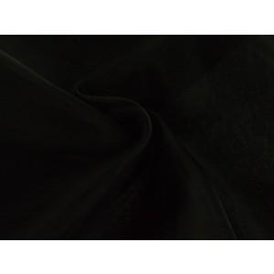 Organza stof - Zwart
