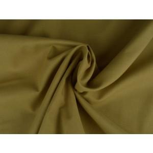 Poplin katoen beige - Katoenen stof op rol