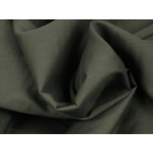 Poplin katoen donkergrijs - Katoenen stof op rol