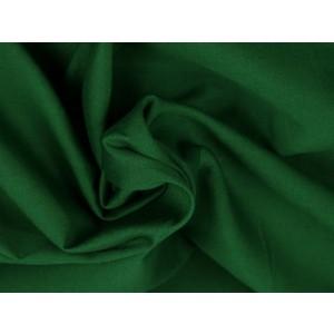Poplin katoen donkergroen - Katoenen stof op rol