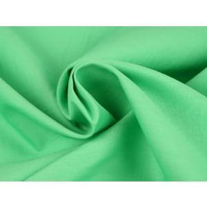 Poplin katoen mintgroen - Katoenen stof op rol
