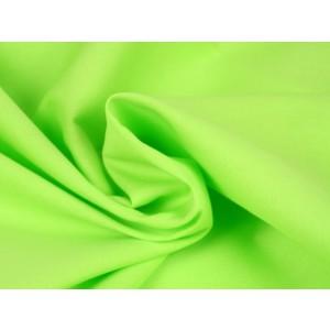 Poplin katoen limoengroen - Katoenen stof op rol