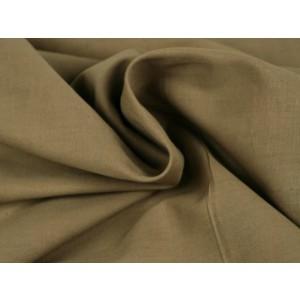 Poplin katoen taupe - Katoenen stof op rol