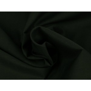 Poplin katoen zwart - Katoenen stof op rol