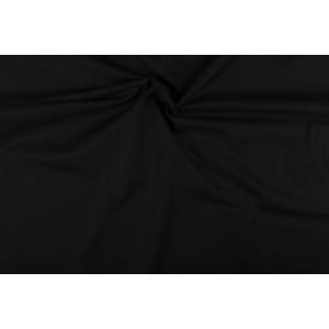 Katoen zwart - Katoenen stof rol