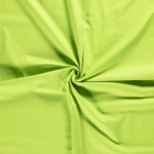 Canvas stof - Limoengroen - 100% katoen