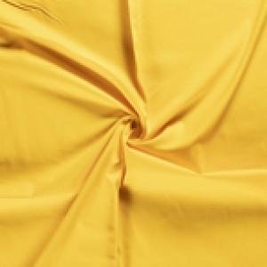 Geel canvas stof - 100% katoen