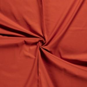 Baksteenoranje canvas stof - 100% katoen