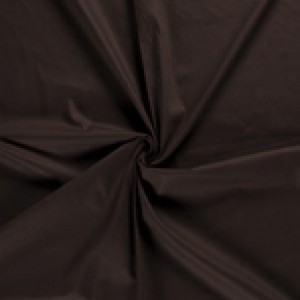 Donkerbruin canvas stof - 100% katoen