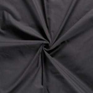 Antraciet canvas stof - 100% katoen