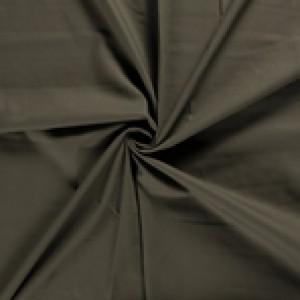 Canvas stof - Bruingroen - 100% katoen