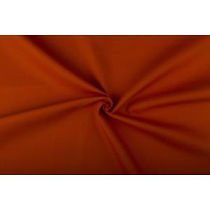 Donkeroranje canvas stof - 100% katoen