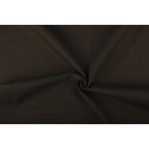 Donkertaupe canvas stof - 100% katoen