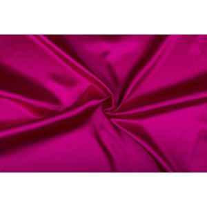 Satijn 50m rol - Fuchsia - 100% polyester