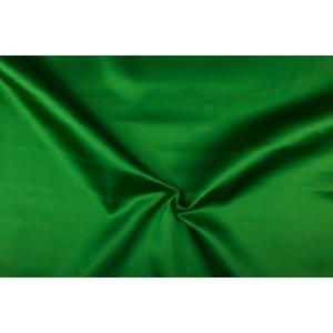 Satijn 50m rol - Groen - 100% polyester