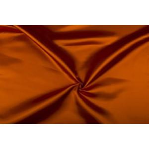 Satijn 50m rol - Zalm - 100% polyester