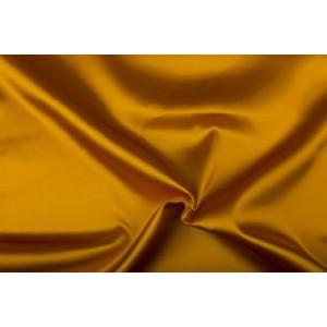 Satijn 50m rol - Goudgeel - 100% polyester