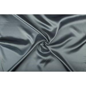 Satijn 50m rol - Grijs - 100% polyester