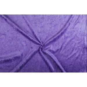 Velour de pannes lila - 45m stof op rol