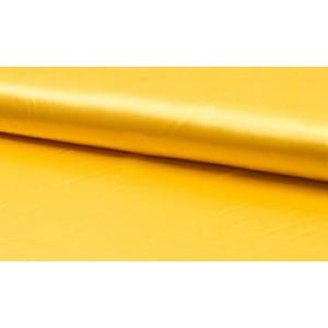 Outlet stoffen -Satijn geel